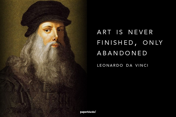 Davinci Quotes On Art. QuotesGram