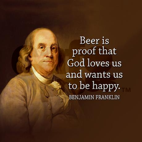 Benjamin Franklin Drinking Quotes. QuotesGram