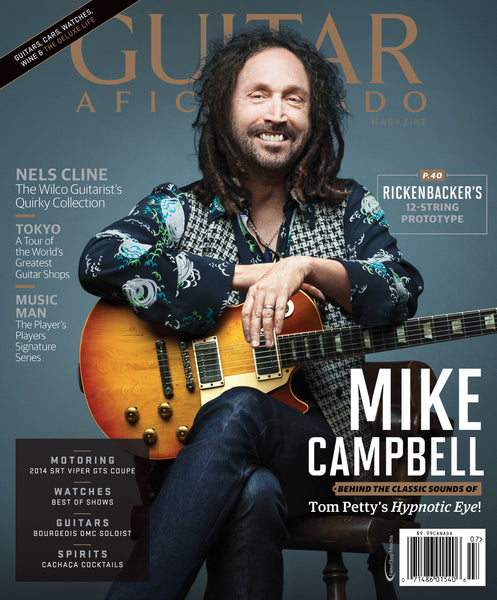 Guitar Aficionado - July/August- 2014 - Mike Campbell ...