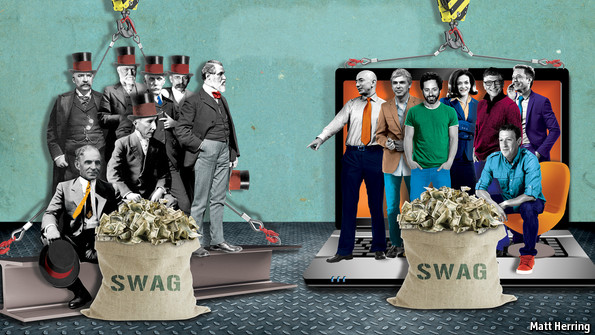 Robber barons and silicon sultans | The Economist