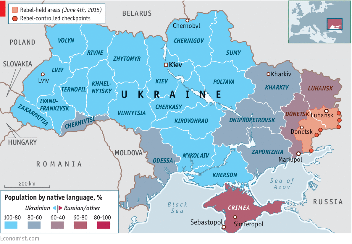 Ukraine in graphics: Crisis in Ukraine   The Economist