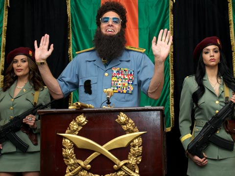 The Dictator: 'Brave, insensitive, funny and horrible' - video review