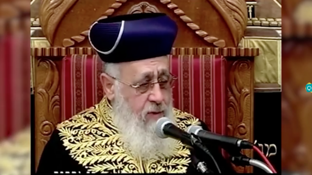Israeli Chief Rabbi berated for comparing black people to ...