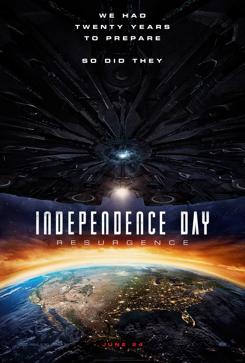 Independence Day: Resurgence (2016) Posters - TrailerAddict