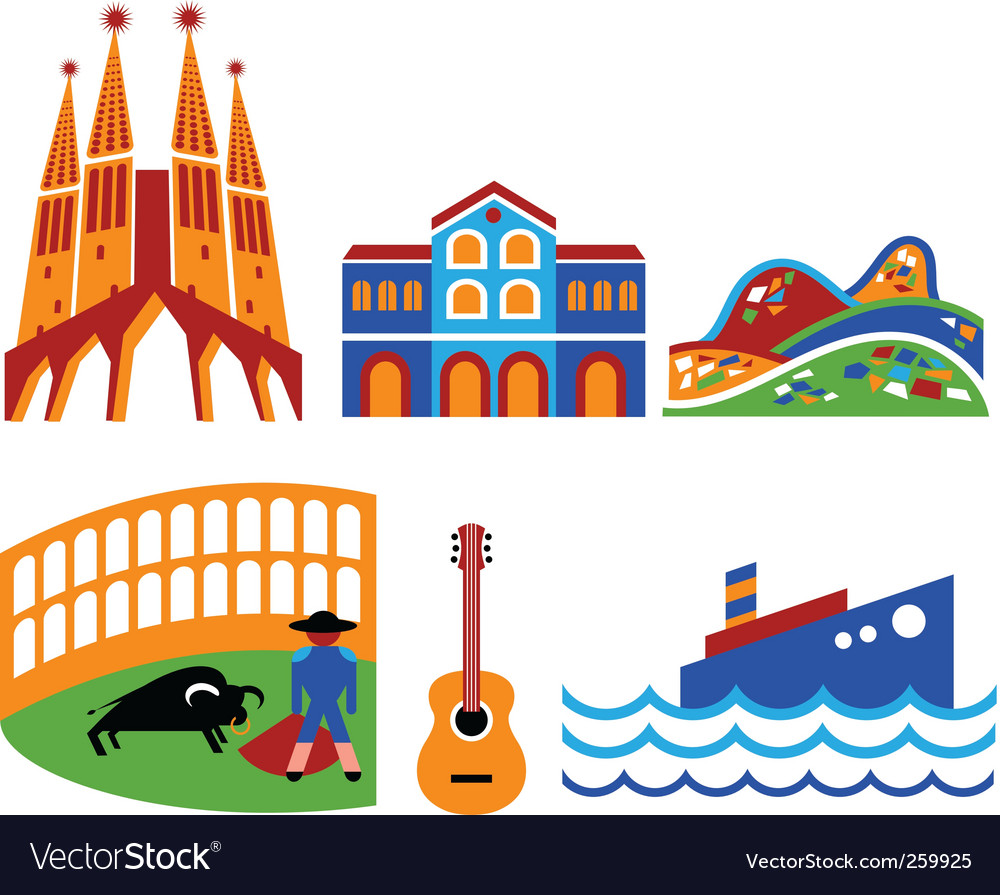 Spain vector by ma_rish - Image #259925 - VectorStock