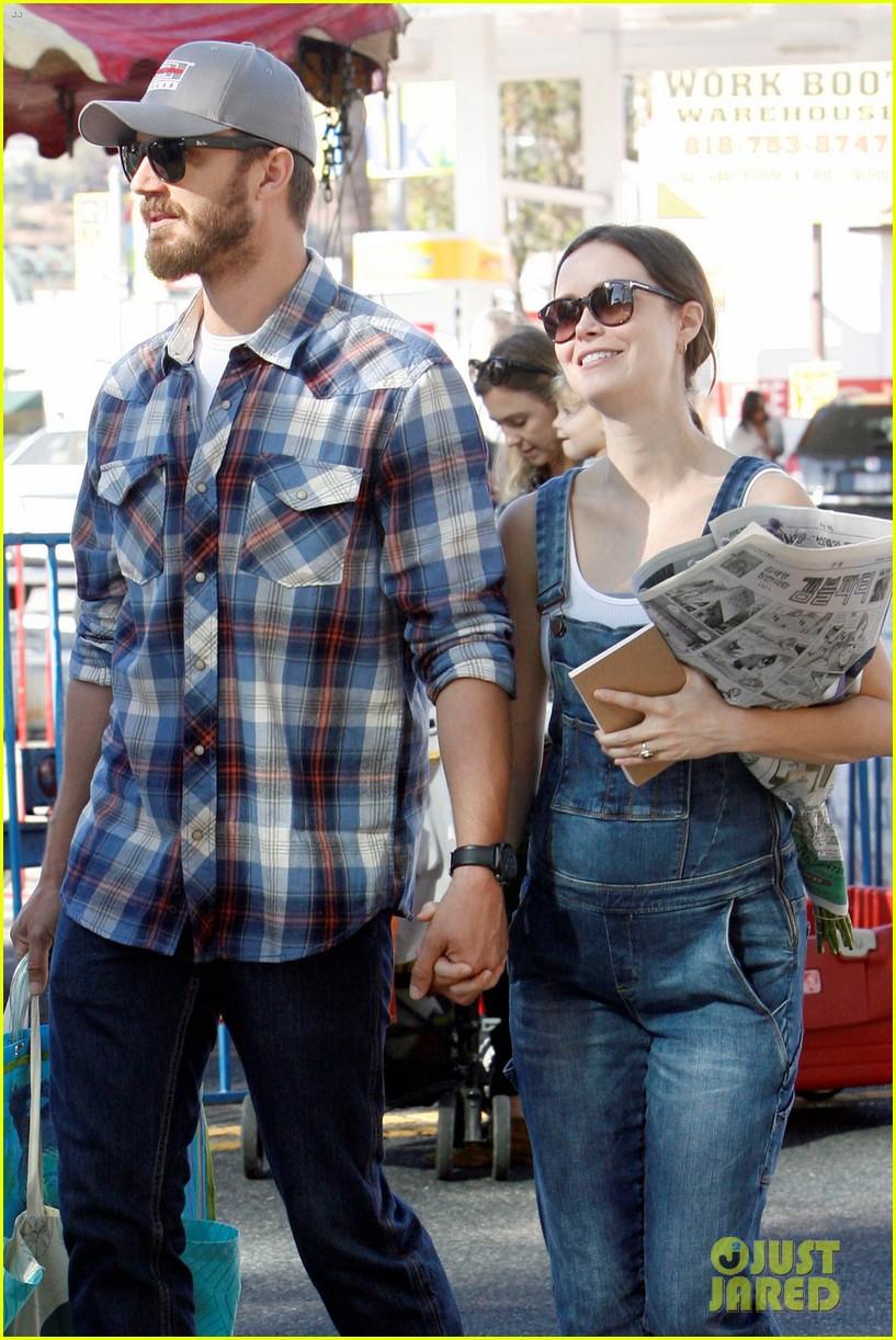 Summer Glau with Husband Val Morrison