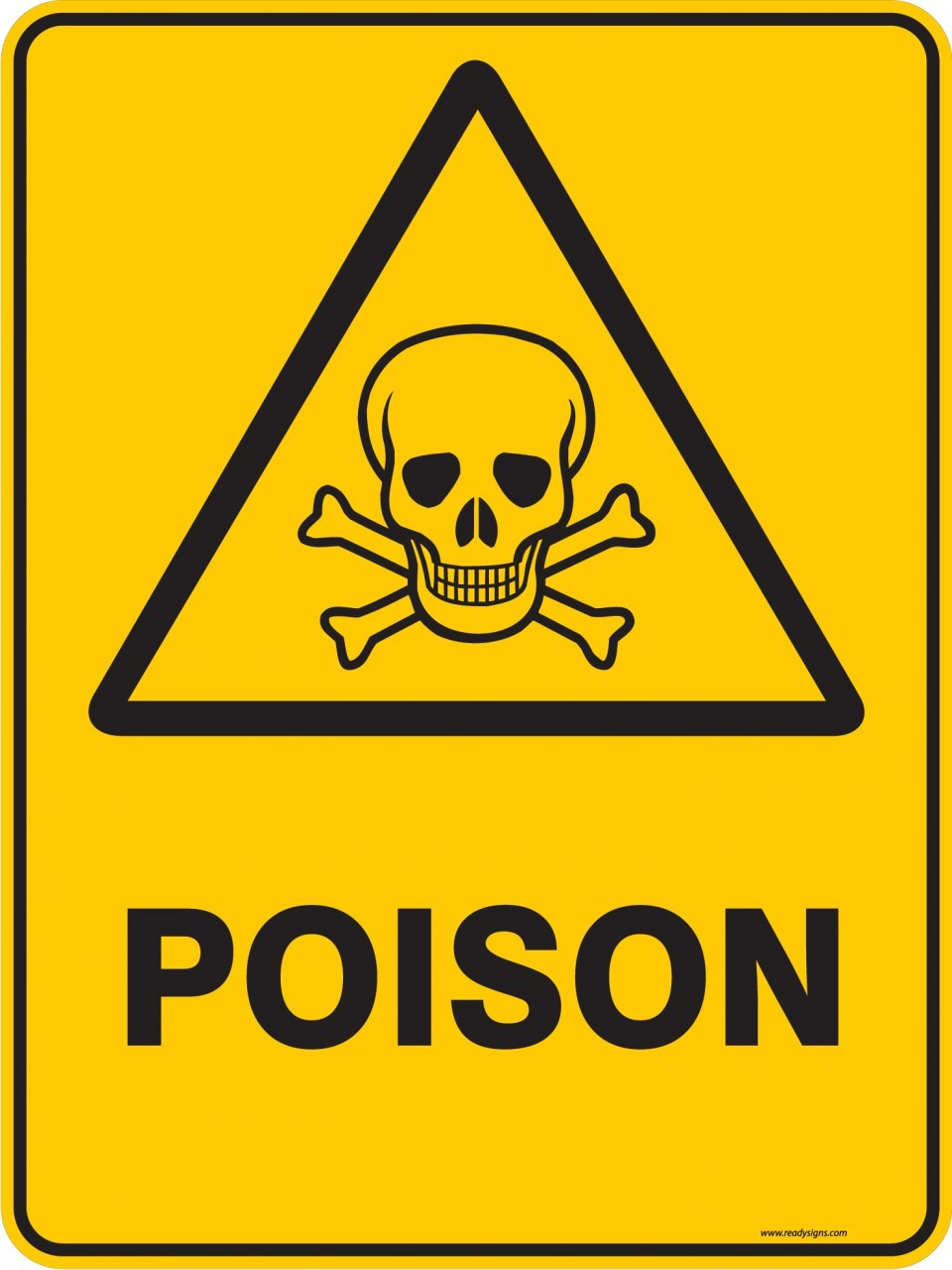 Warning Sign - POISON - Ready Signs