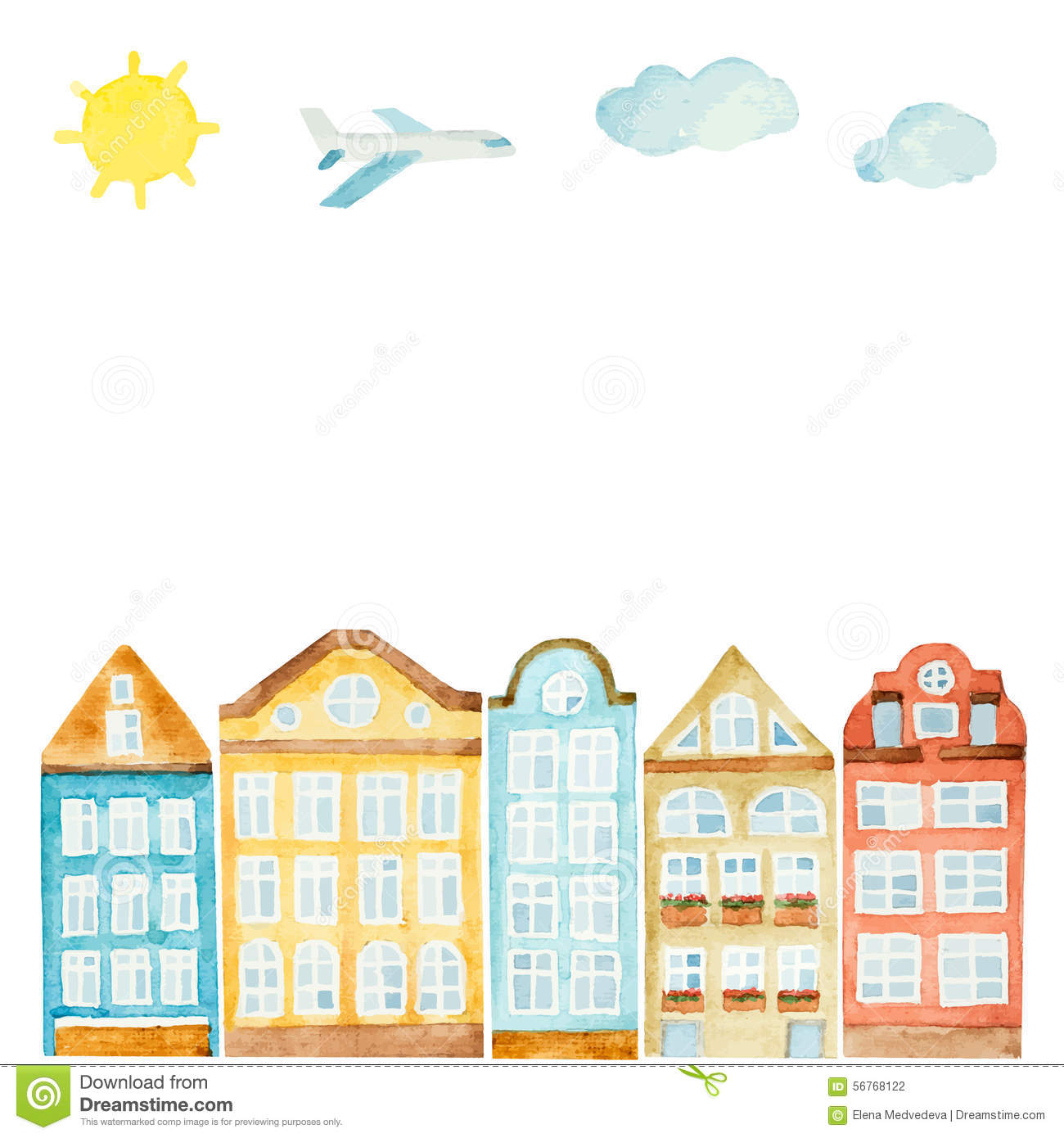 House clouds clipart - Clipground