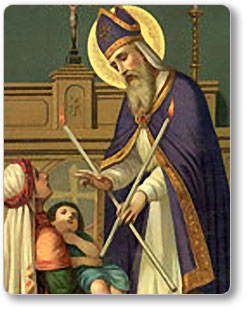Saint Blase and the Blessing of Throats | Communio