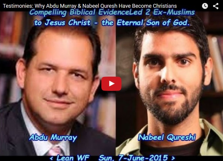 Testimonies: Why Abdu Murray & Nabeel Qureshi Have Become Christians