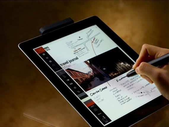 anotar documentos usando una tablet