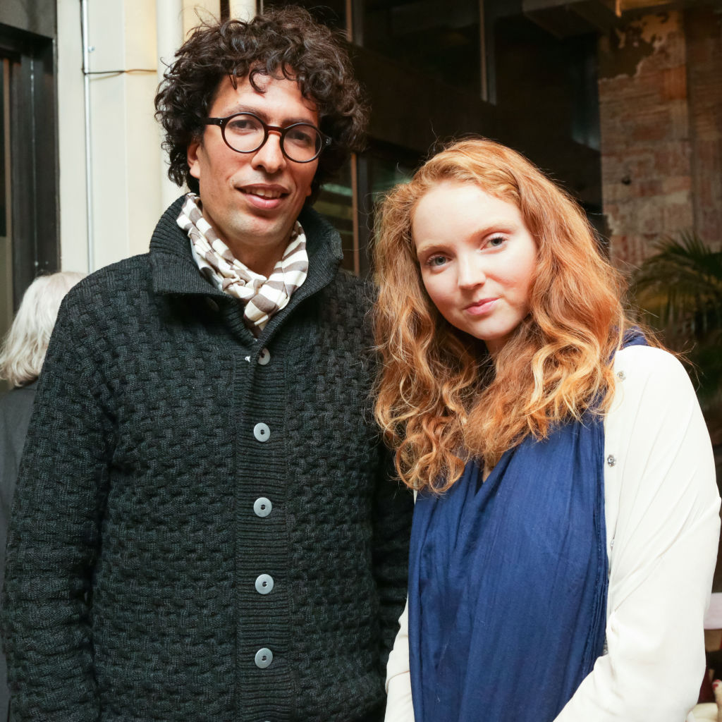 Lily Cole with Boyfriend Kwame Ferreira