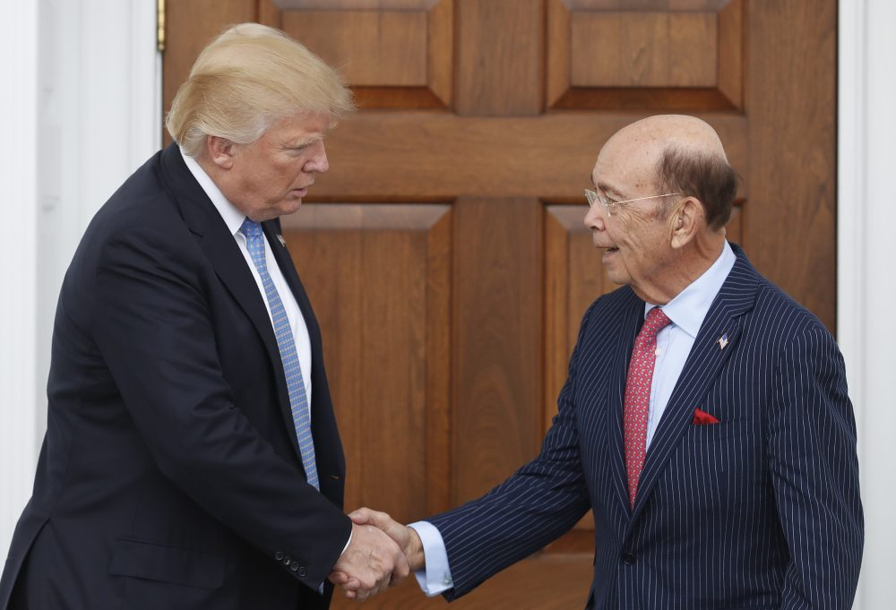 Trump Commerce Pick Wilbur Ross And The Steel Industry ...