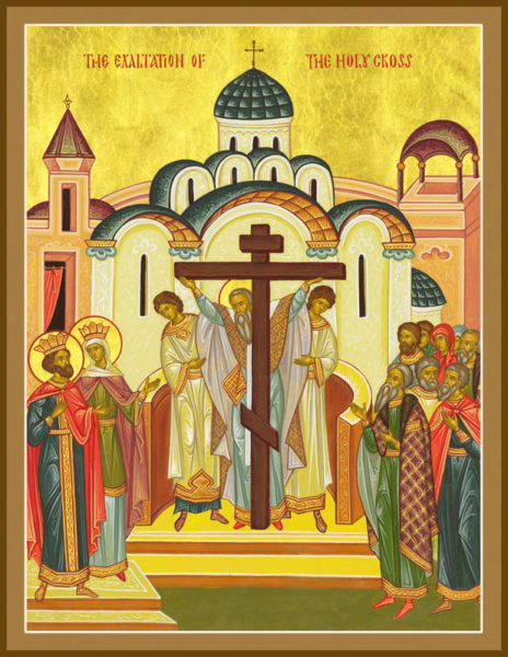 The Exaltation of the Holy Cross – Damascene Gallery