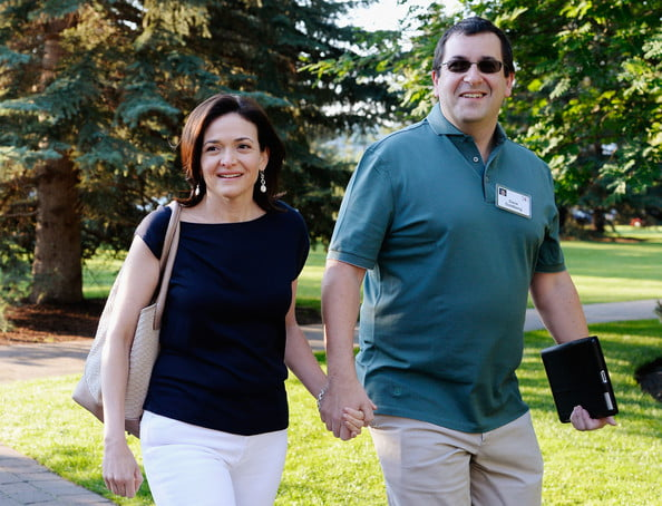 ... CEO David Goldberg is Facebook COO Sheryl Sandberg's Husband