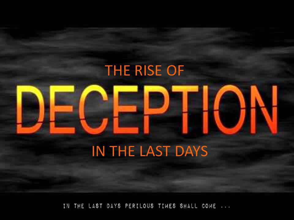 Do Not Be Deceived, Church: Wake Up and Watch Out! | David ...