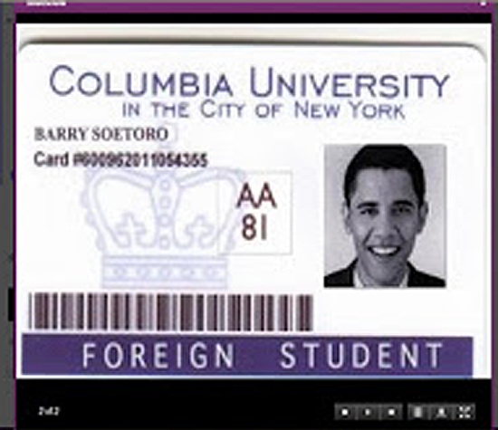 Barry Soetoro is no longer registered to vote in D.C. -