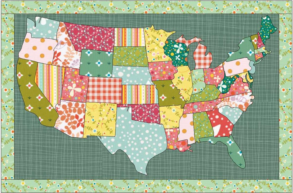 USA quilt | The Electric Quilt Blog