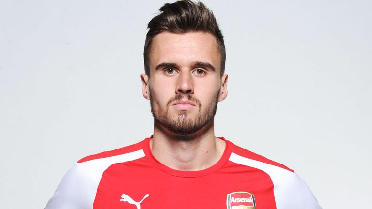 The 26-year old son of father (?) and mother(?), 185 cm tall Carl Jenkinson in 2018 photo