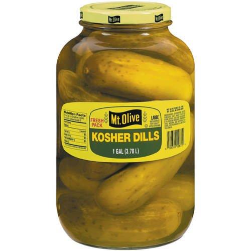 Mt. Olive - Kosher Dill Pickles - 128-Fl. Oz. (1 Gallon) Jar
