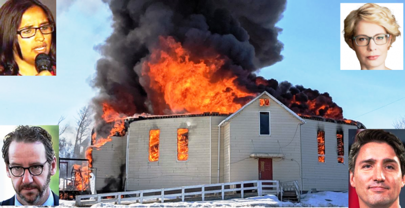 Raymond Ibrahim: Canadian Leadership on the Torching of Dozens of Churches: 'Burn It All Down ...