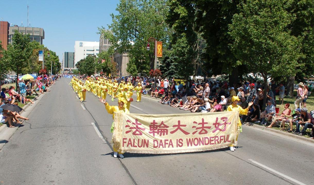 Ontario, Canada: Falun Dafa Group's Contribution ...