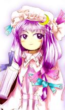 Patchouli Knowledge (Touhou 6: Embodiment of Scarlet Devil ...