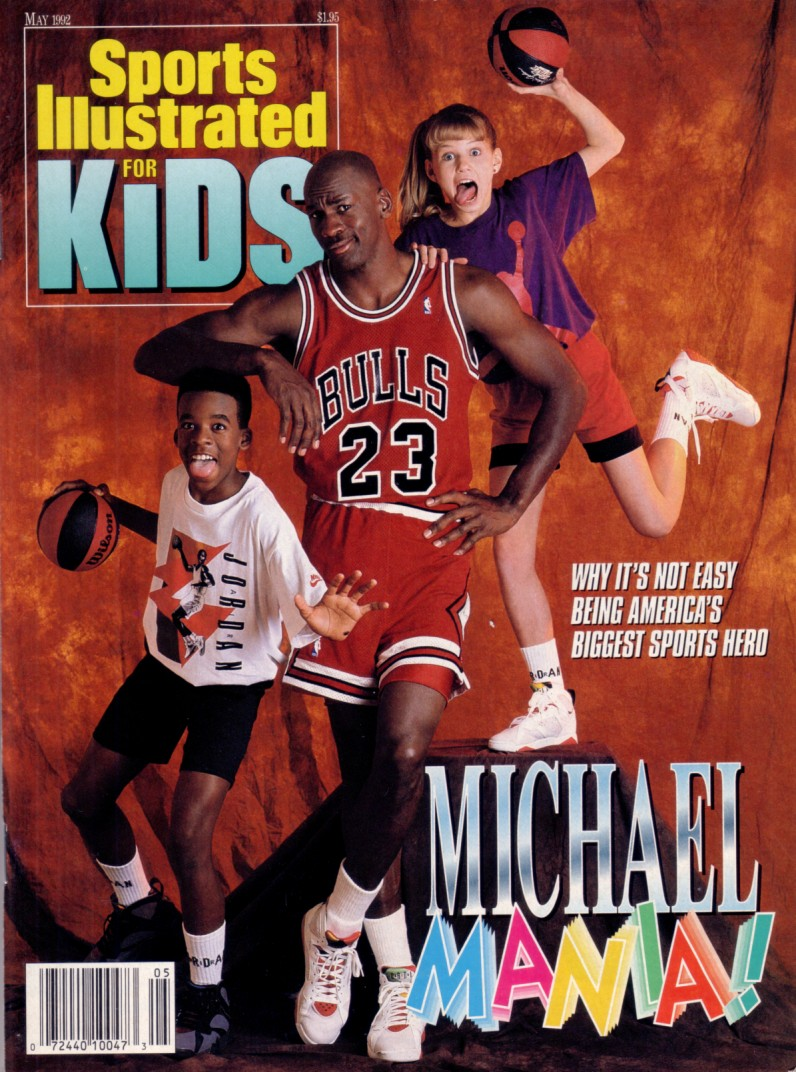 Michael Jordan Chicago Bulls May 1992 Sports Illustrated ...