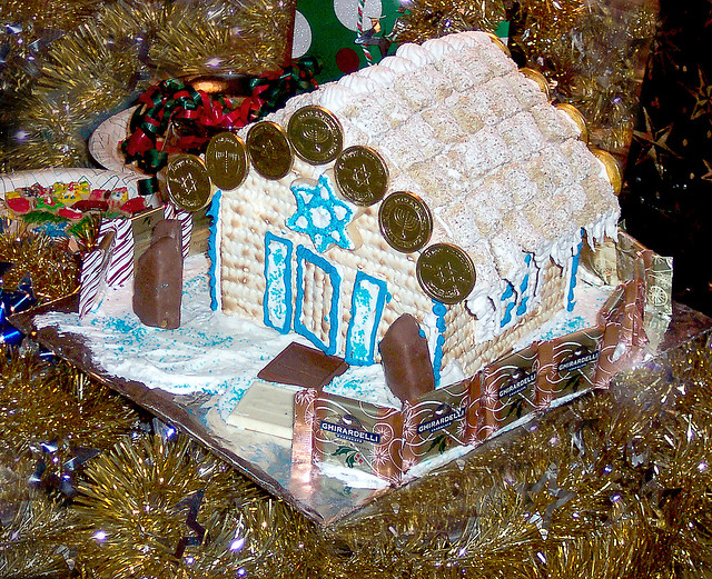 Matzo House '05 | Holiday 05. A Jewish Gingerbread House for… | By ...