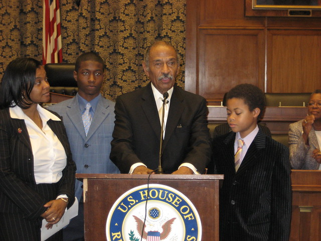 Congressman Conyers and Family | Flickr - Photo Sharing!