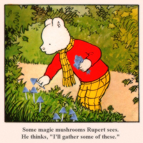 Mushroom - Rupert Bear