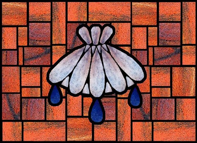 Baptism Shell   Stain glass   By: WELS.net   Flickr ...