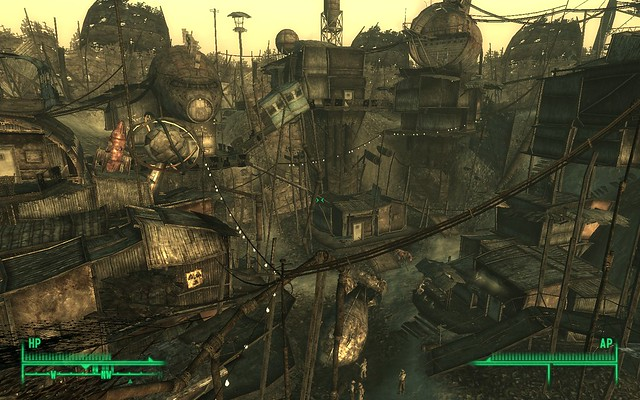 Megaton city / Fallout 3 | Flickr - Photo Sharing!