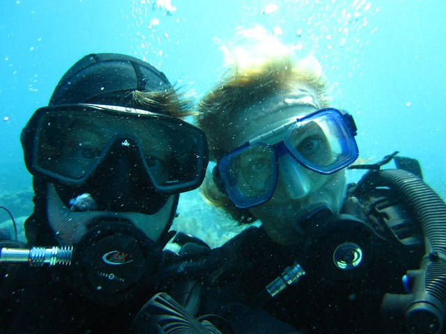 Scuba Diving Friends and Buddies