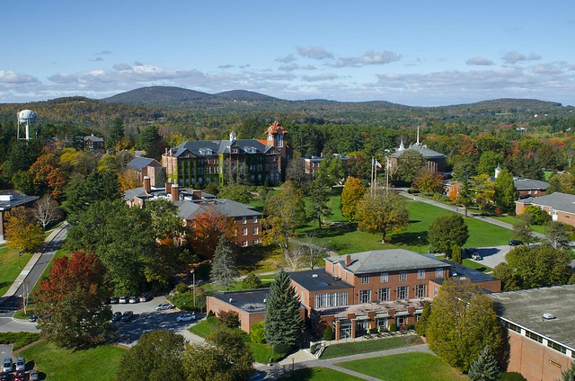 Saint Anselm College, as seen from above | Flickr - Photo Sharing!