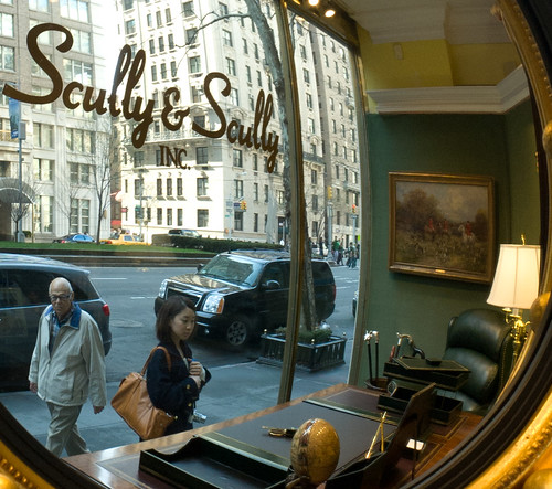 Caption Time: The Window Shopper at Scully and Scully - Chuck Miller