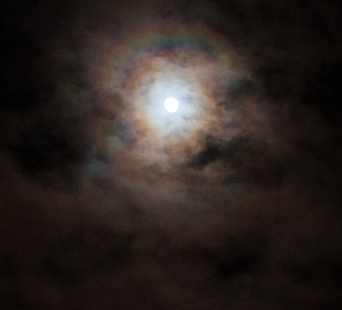 A Rainbow Moon Over San Francisco - Far Out City