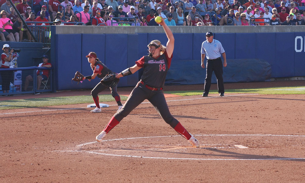 Lowary, Parker pitch Oklahoma to Game 1 victory ...