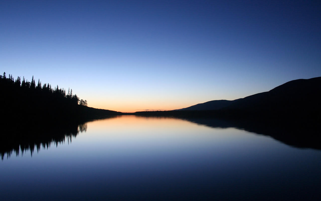 Calm Sunset by grant-erb