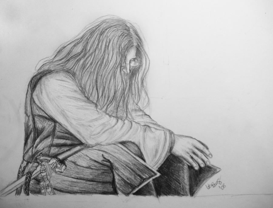 Crestfallen Warrior by Louba on deviantART
