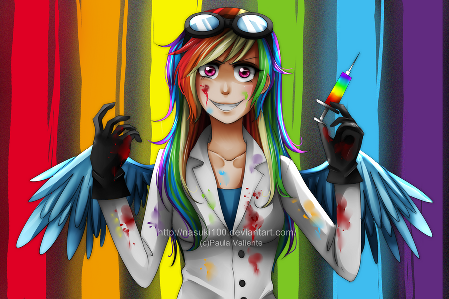 Rainbow Factory ~*~ Requested Minecraft Skin