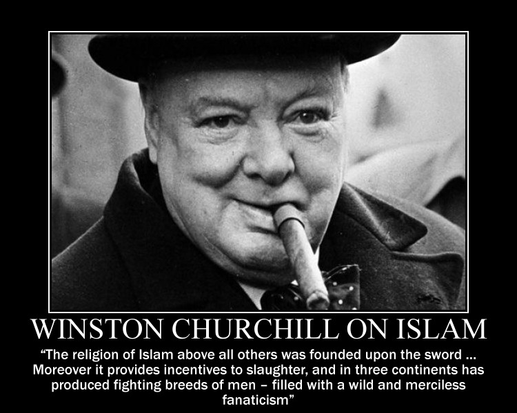 Winston Churchill on Islam by fiskefyren on DeviantArt