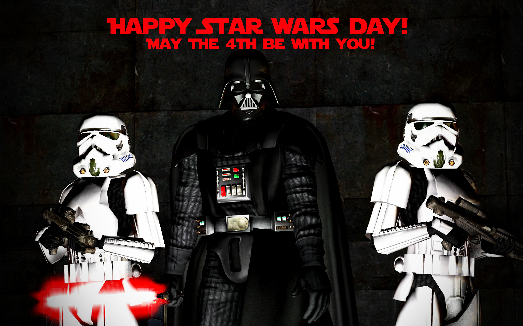 Happy Star Wars Day! by benoski
