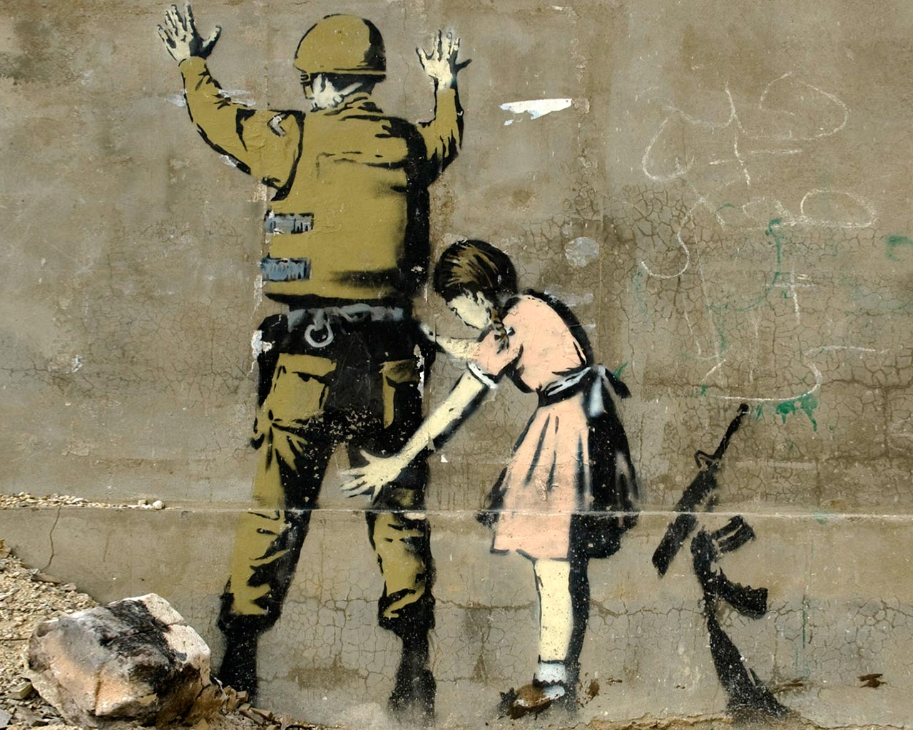 Banksy's latest works tackle technology, surveillance and our ...