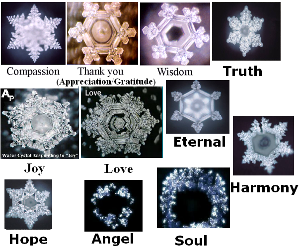 ... emoto water crystallized water