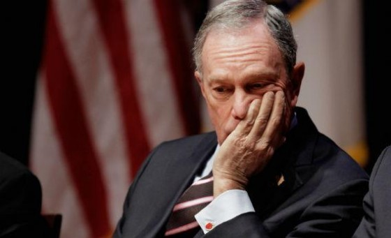 Bloomberg quits…