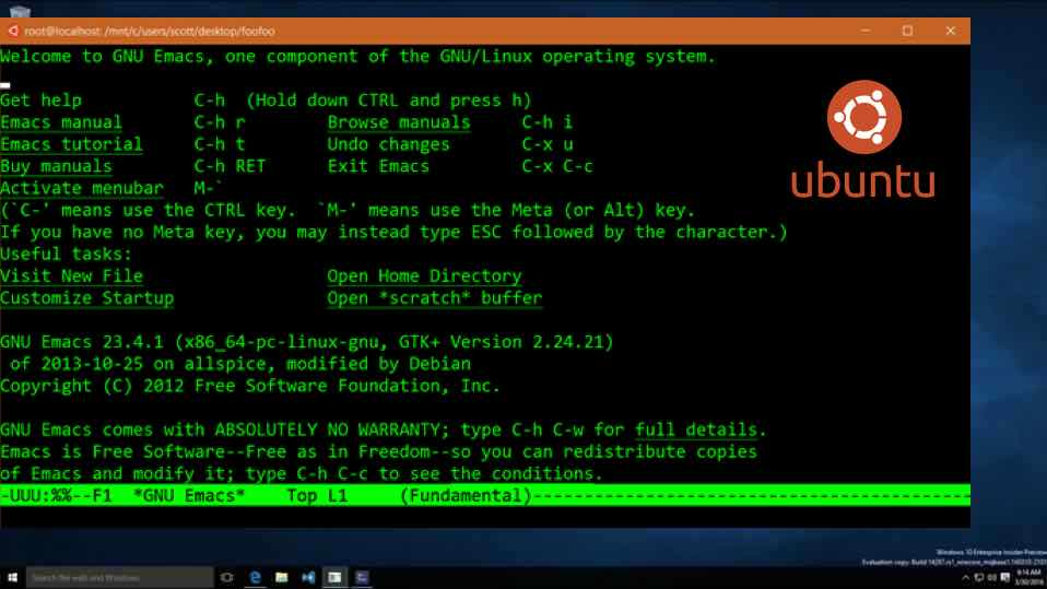 Ubuntu Linux On Windows 10 — Here Are The First Pictures ...