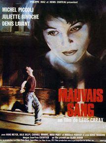 Mauvais sang - film 1986 - AlloCiné