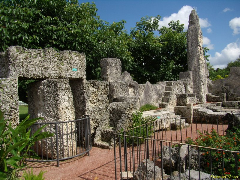 Coral Castle 9 ton door