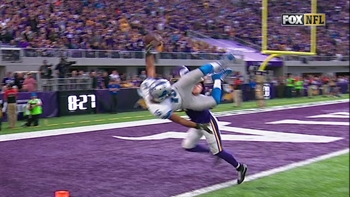 Golden Tate gives the Lions an OT win in Minnesota with this TD | FOX ...